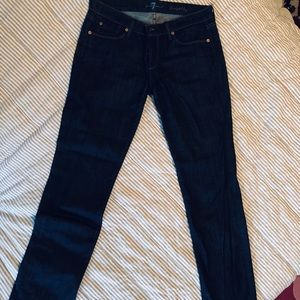 7 for all Mankind straight jeans size 30.